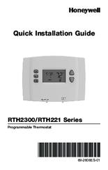 Honeywell rth221 series quick installation manual pdf download freerunsca Choice Image