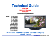 Panasonic TH-42PZ80U Technical Manual