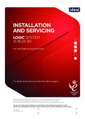 IDEAL LOGIC SYSTEM 15 INSTALLATION AND SERVICING Pdf Download | ManualsLibManualsLib