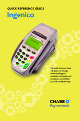 INGENICO 5100 QUICK REFERENCE MANUAL Pdf Download