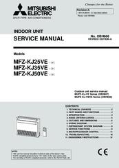 mitsubishi electric mfz kj35ve manuals rh manualslib com mitsubishi electric aircon service manual mitsubishi electric vrf service manual