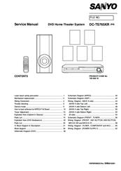 sanyo dc ts765kr manuals. Black Bedroom Furniture Sets. Home Design Ideas
