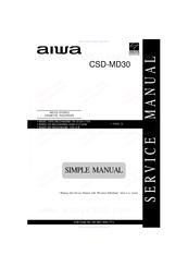 aiwa csd md30 manuals rh manualslib com volvo md 30 manual