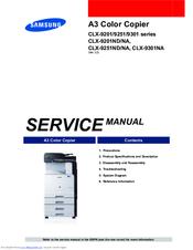 samsung clx 9301na manuals rh manualslib com Samsung Schematics samsung clx-4195n service manual