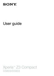 sony xperia z3 compact d5803 user manual pdf download rh manualslib com sony xperia xa user manual sony xperia operation manual