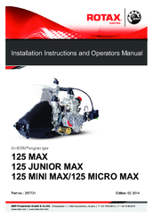 rotax 125 max installation instructions and operators manual pdf rh manualslib com