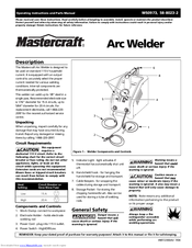 mastercraft ws0973 operating instructions and parts manual pdf download rh manualslib com mastercraft welder parts mastercraft 230 amp arc welder manual