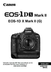 canon eos 1 d x mark ii instruction manual pdf download rh manualslib com canon eos 1d mark iii user manual canon eos 1d mark iii user manual