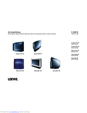 loewe xelos 5381 zw manuals rh manualslib com Loewe TV Wood Loewe TV 1999