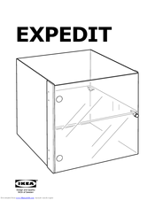 ikea expedit coffee table square manuals rh manualslib com ikea expedit 4x4 manual ikea expedit 4x4 manual