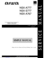 aiwa nsx s777 manuals rh manualslib com Aiwa Nsx- A202 Aiwa Nsx- D70