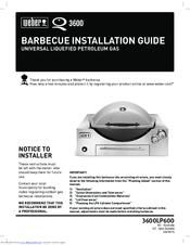 weber q 3600 manuals rh manualslib com weber q 320 instruction manual Weber Q 320 Accessories
