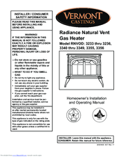vermont castings rnvod 3345 manuals