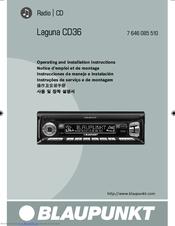 blaupunkt laguna cd36 manuals rh manualslib com peugeot 307 blaupunkt stereo manual blaupunkt car stereo manual