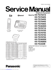panasonic kx tg7873s manuals rh manualslib com panasonic cordless phone manual kx-tg7641 panasonic cordless phone manual kx-tga470