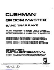 align t rex 500 esp kx017011t manuals rh manualslib com Cushman Bunker Rake Cushman Groom Master Dimensions