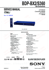 sony bdps360 blu ray disc player manuals rh manualslib com sony bdp-s360 instruction manual sony dvd bdp-s360 manual
