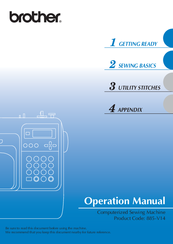 Brother 885-V14 Operation Manual