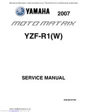 YAMAHA YZF-R1 2007 SERVICE MANUAL Pdf Download