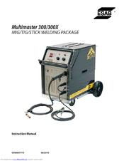 esab multimaster 300 manuals rh manualslib com Esab TIG Welder Esab Mig Tocha