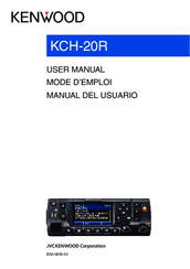 Kenwood KCH-20R User Manual
