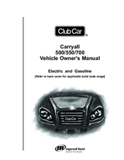 CLUB CAR CARRYALL 500 OWNER'S MANUAL Pdf Download