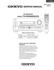 onkyo tx nr5008 manuals rh manualslib com onkyo tx-nr5008 manual onkyo tx nr5008 service manual