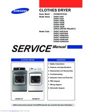 samsung dv5451aew dv5451agw service manual repair guide