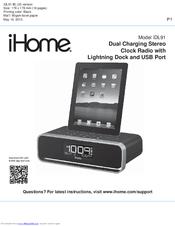 ihome idl91 manuals rh manualslib com iHome Headphones ihome id38 instruction manual