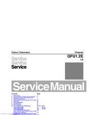 Philips 60PFL6008S/12 Service Manual