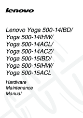 Lenovo Yoga 500-14ACZ Hardware Maintenance Manual