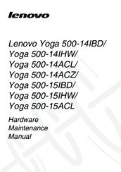 Lenovo Yoga 500-14IHW Manuals