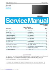 aoc e2243fw manuals rh manualslib com