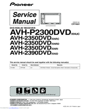 pioneer avh p2300dvd service manual pdf download Pioneer AVH P4000DVD Manual