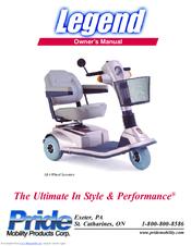 pride mobility legend manuals rh manualslib com pride legend service manual pride legend scooter owners manual
