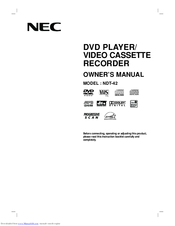 NEC NDT-42 Owner's Manual