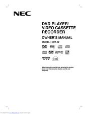 Nec NDT-42 Manuals