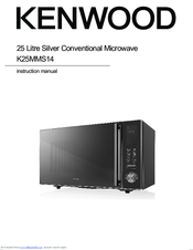 Kenwood K25MMS14 Instruction Manual