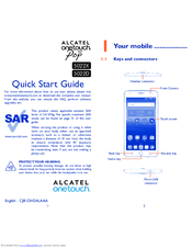 ALCATEL ONE TOUCH 5022X QUICK START MANUAL Pdf Download
