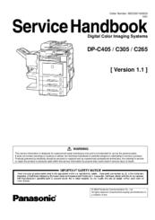 Panasonic WORKiO DP-C305 PCL Printer Treiber Windows 10