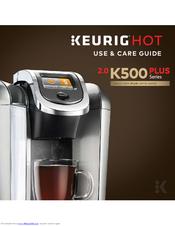 Keurig Coffee Maker B140 Manual : Keurig 2.0 K500 Manuals