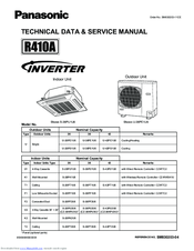 Panasonic : S-26PU1U6 Technical Data & Service Manual