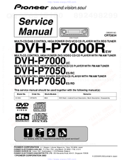 Pioneer Super Tuner III DVH-P7050 Manuals
