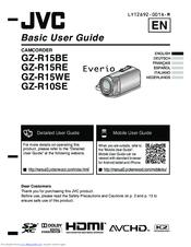 jvc gz r15re manuals rh manualslib com JVC Everio User Manual JVC Everio Support
