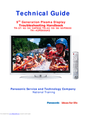 Panasonic TH-50PX60U Technical Manual