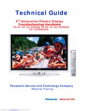 Panasonic TH-50PX60U Technical Manual