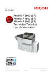 Ricoh Aficio MP 6002SP Printer PCL 6 X64 Driver Download