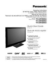 panasonic th 50pz800u manuals rh manualslib com panasonic th-50pz800a manual panasonic viera th-50pz800u owners manual