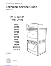 GE JKP75 Technical Service Manual