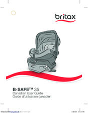 britax b safe 35 elite manuals rh manualslib com britax b ready instruction manual britax advocate clicktight instruction manual